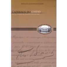 Cadernos do CHDD - Ano 11 -  Número  20 - 1º Semestre de 2012