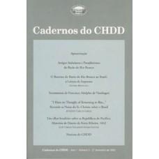 Cadernos do CHDD - Ano I - Número 1 - 2º Semestre de 2002