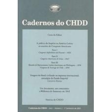 Cadernos do CHDD Ano 1 - Número 2 - 1º Semestre de 2003