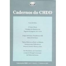 Cadernos do CHDD Ano 3 - Número 4 - 1º Semestre de 2004