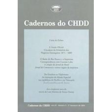 Cadernos do CHDD Ano 3 - Número 5 - 2º Semestre de 2004