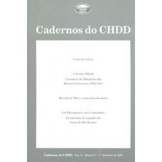 Cadernos do CHDD Ano 4 - Número 7 - 2º Semestre de 2005