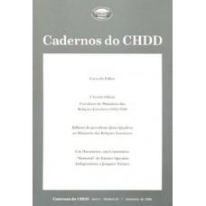 Cadernos do CHDD Ano 5 - Número 8 - 1º Semestre de 2006