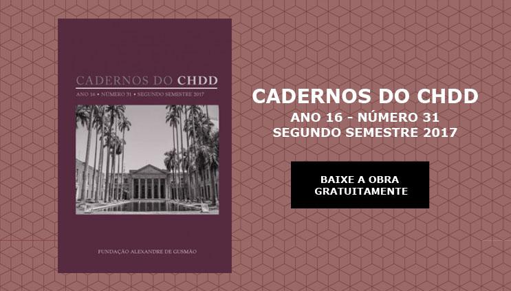Cadernos do CHDD Nº 31