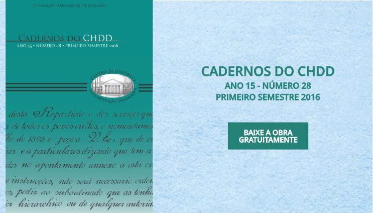 Cadernos do CHDD Nº 28