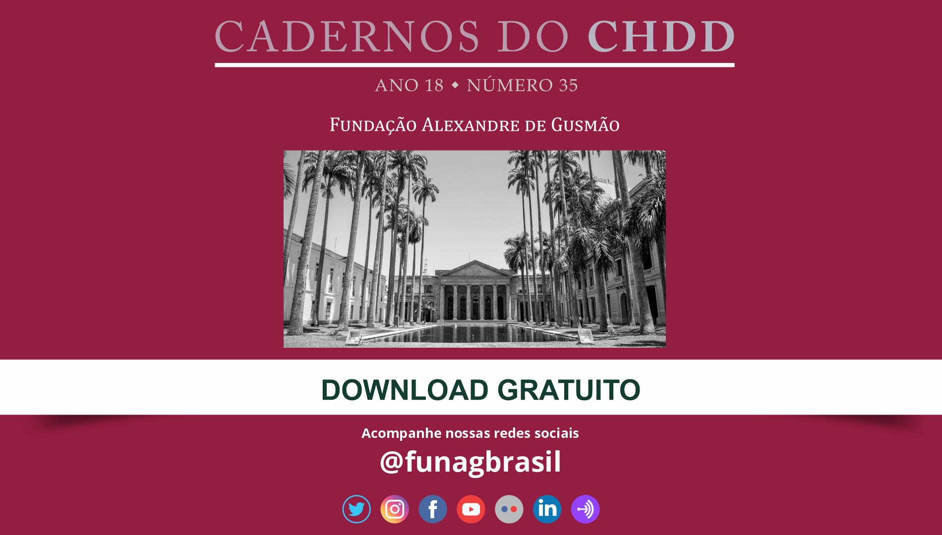 A Fundação Alexandre de Gusmão (FUNAG) publica a 35ª edição do