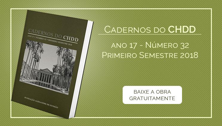 Cadernos do CHDD Nº 32