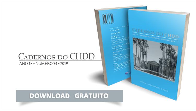 """Lançamento do """"Cadernos do CHDD nº 34"""""""