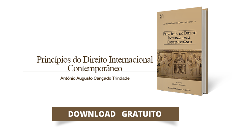 """FUNAG edita o livro """"Princípios do Direito Internacional Contemporâneo"""""""