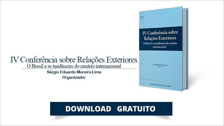 FUNAG publica o livro da IV Conferência sobre Relações Exteriores (CORE)