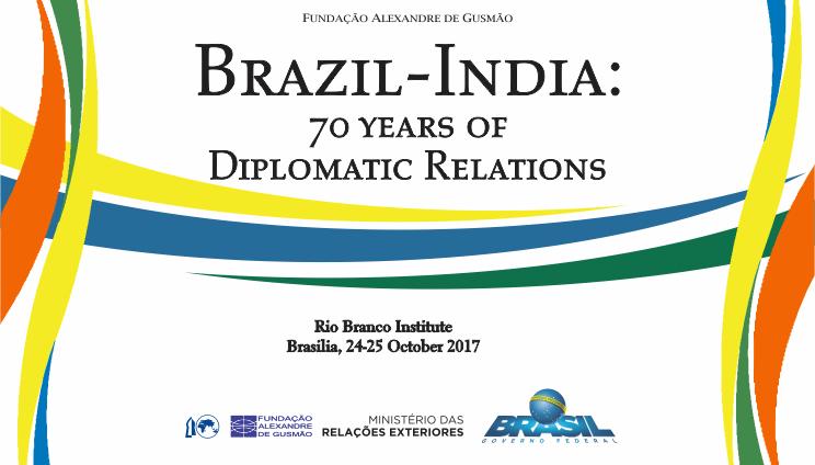 """Cancelamento do seminário """"Brasil-Índia: 70 anos de relações diplomáticas"""""""