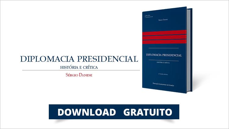 "FUNAG publica la segunda edición del libro ""Diplomacia Presidencial: História e Crítica"""