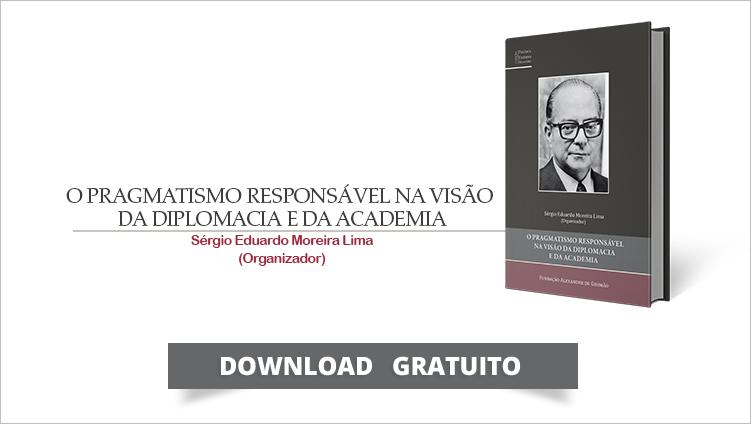 """FUNAG publica o livro """"O Pragmatismo Responsável na Visão da Diplomacia e da Academia"""""""