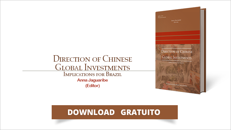 "FUNAG publishes the book ""Direction of Chinese Global Investments, Implications for Brazil"""