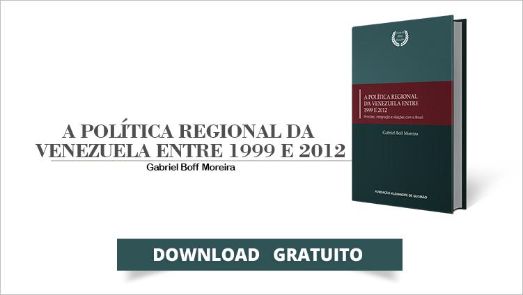 """FUNAG lança o livro """"A Política Regional da Venezuela entre 1999 e 2012 – Petróleo, integração e relações com o Brasil"""""""