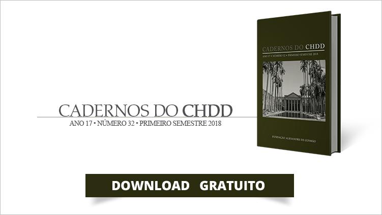 """FUNAG lança 32ª edição dos """"Cadernos do CHDD"""""""