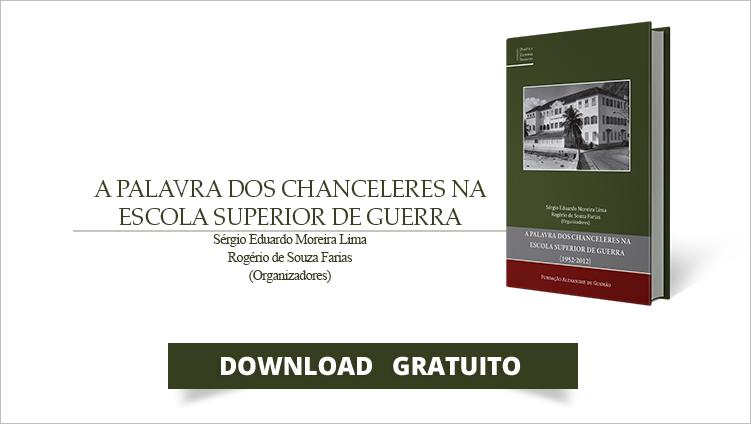 """FUNAG publica o livro """"A palavra dos chanceleres na Escola Superior de Guerra (1952-2012)"""""""