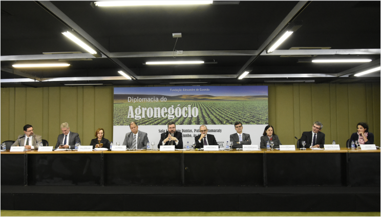 Itamaraty and FUNAG conduct seminar on the diplomacy of agribusiness