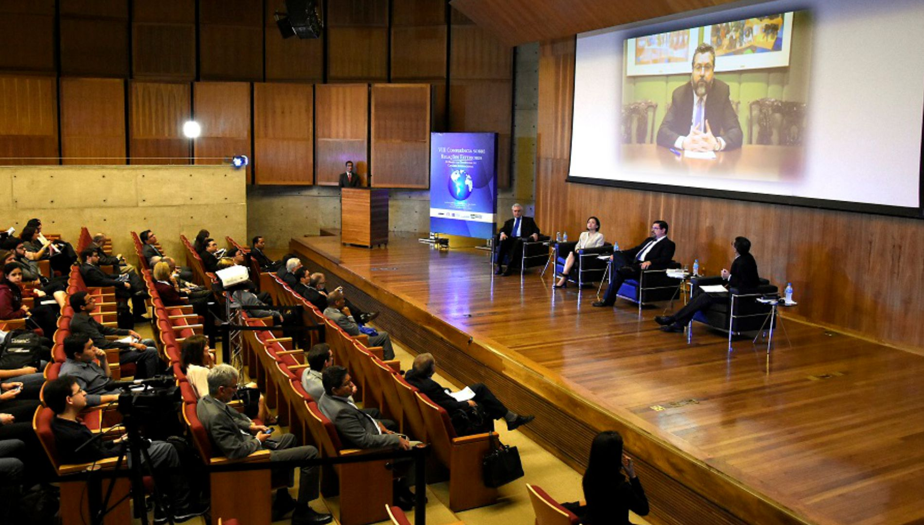 FUNAG promotes VIII Foreign Relations Conference in São Paulo