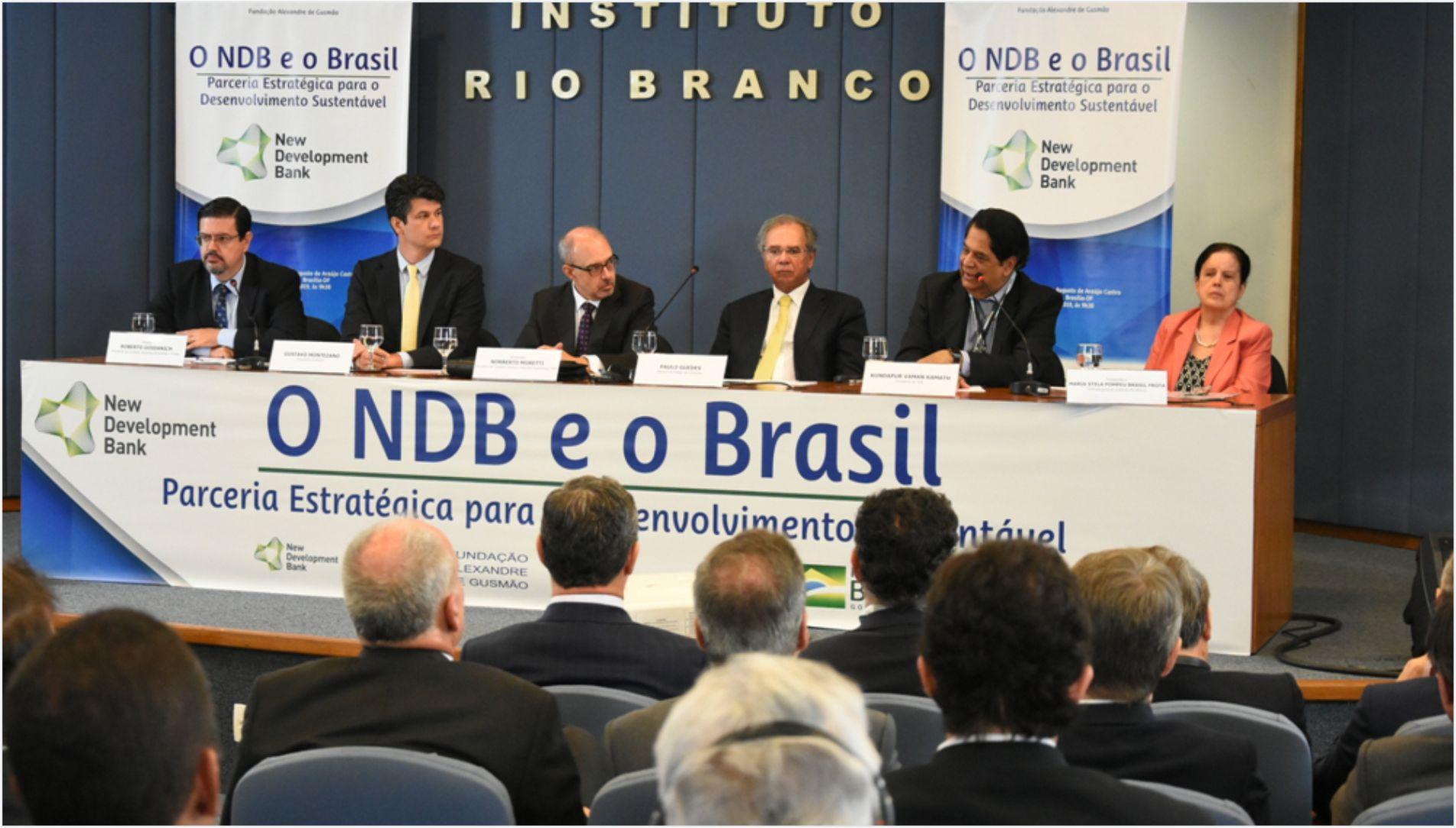 MRE e FUNAG realizam seminário sobre o NDB e o Brasil