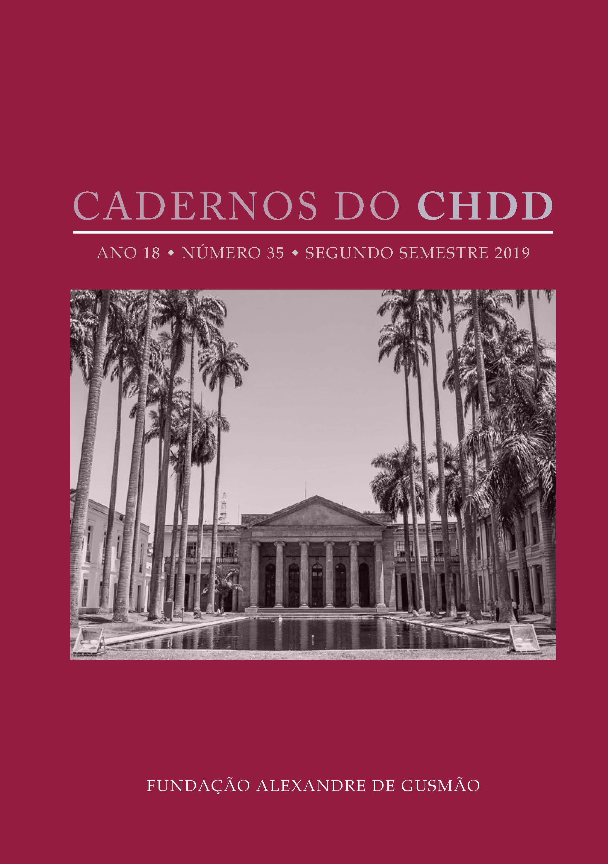 Cadernos do CHDD - Ano 18 . Número 35 . segundo semestre de 2019