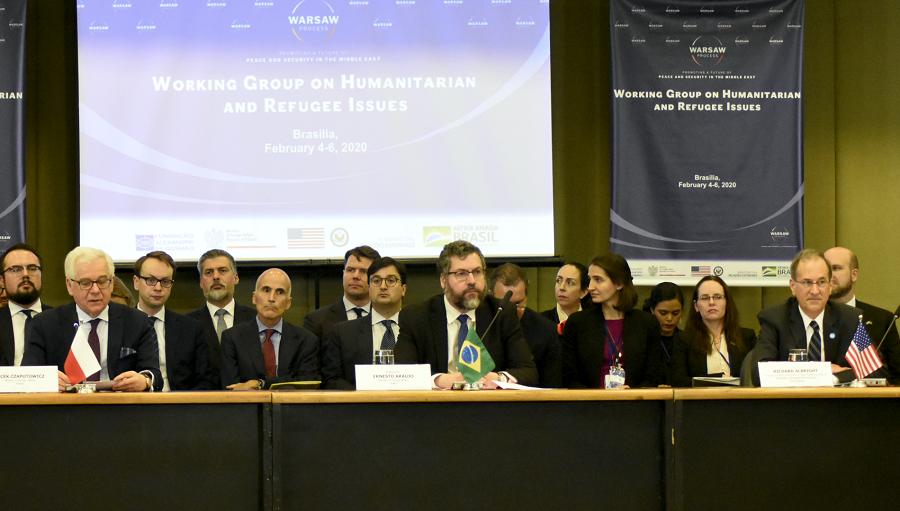 Reunião do Grupo de Trabalho do Processo de Varsóvia sobre Assuntos Humanitários e Refugiados