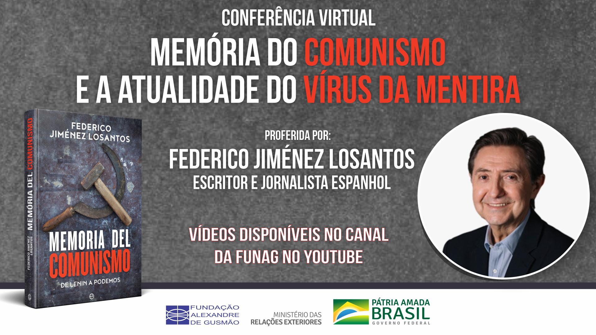 """Vea los videos de la conferencia """"Memoria del comunismo y la actualidad del virus de la mentira"""""""