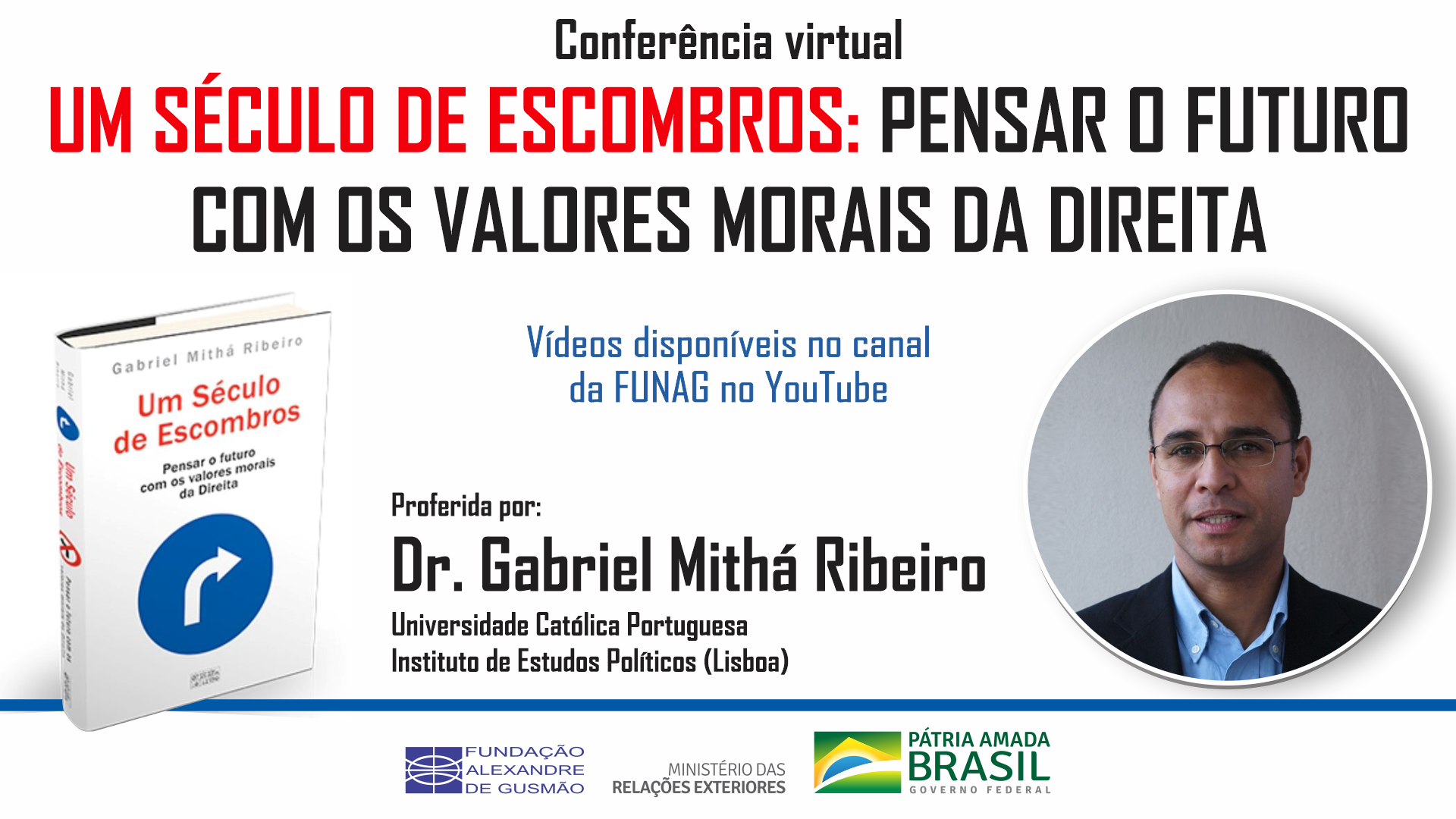 Watch the videos of the conference on a century of debris: considering the future with the moral values of the right