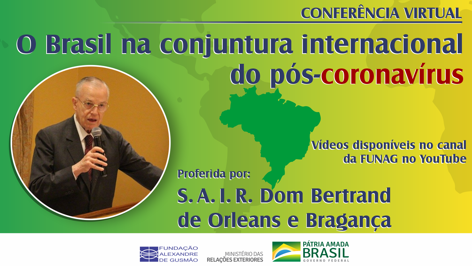 Watch the videos of the conference by Dom Bertrand of Orléans-Braganza