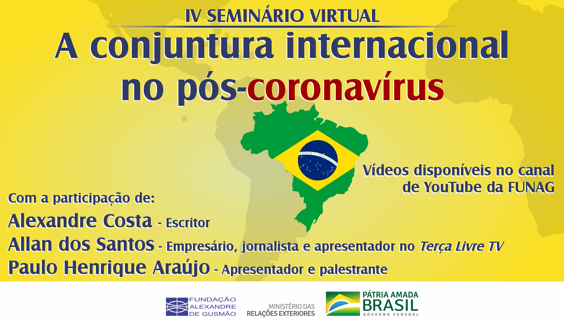 "Watch the IV webinar ""The International Status Quo After the Coronavirus"""