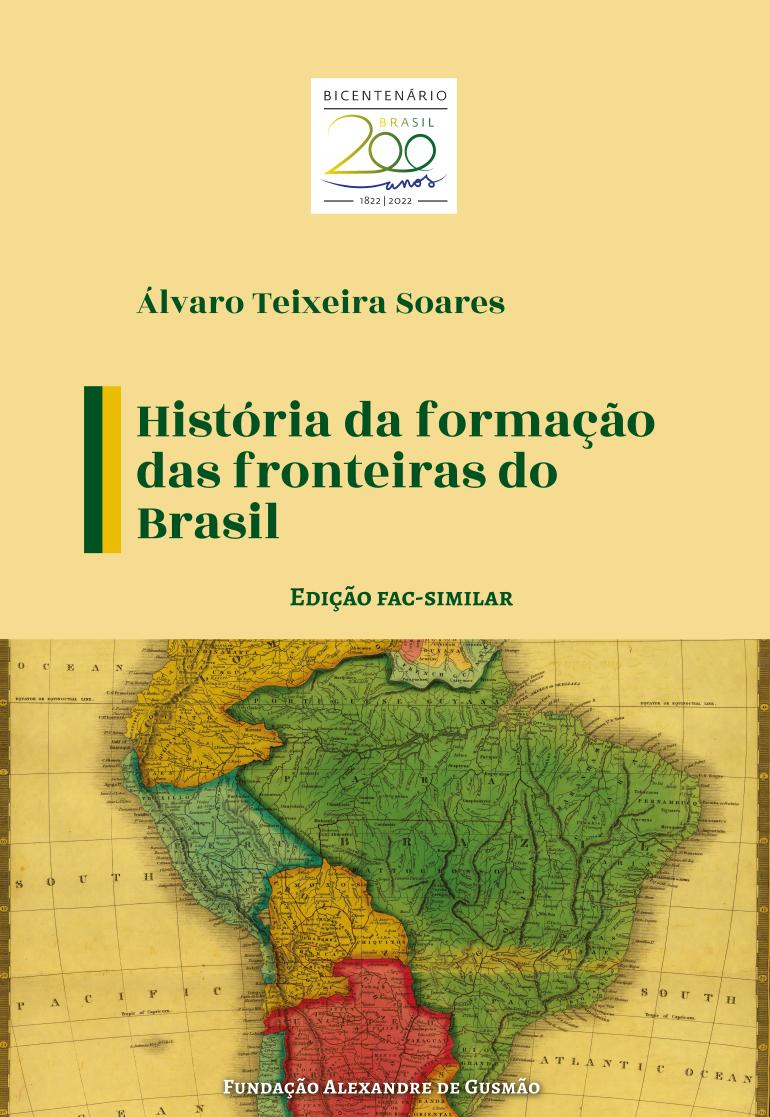 História da formação das fronteiras do Brasil
