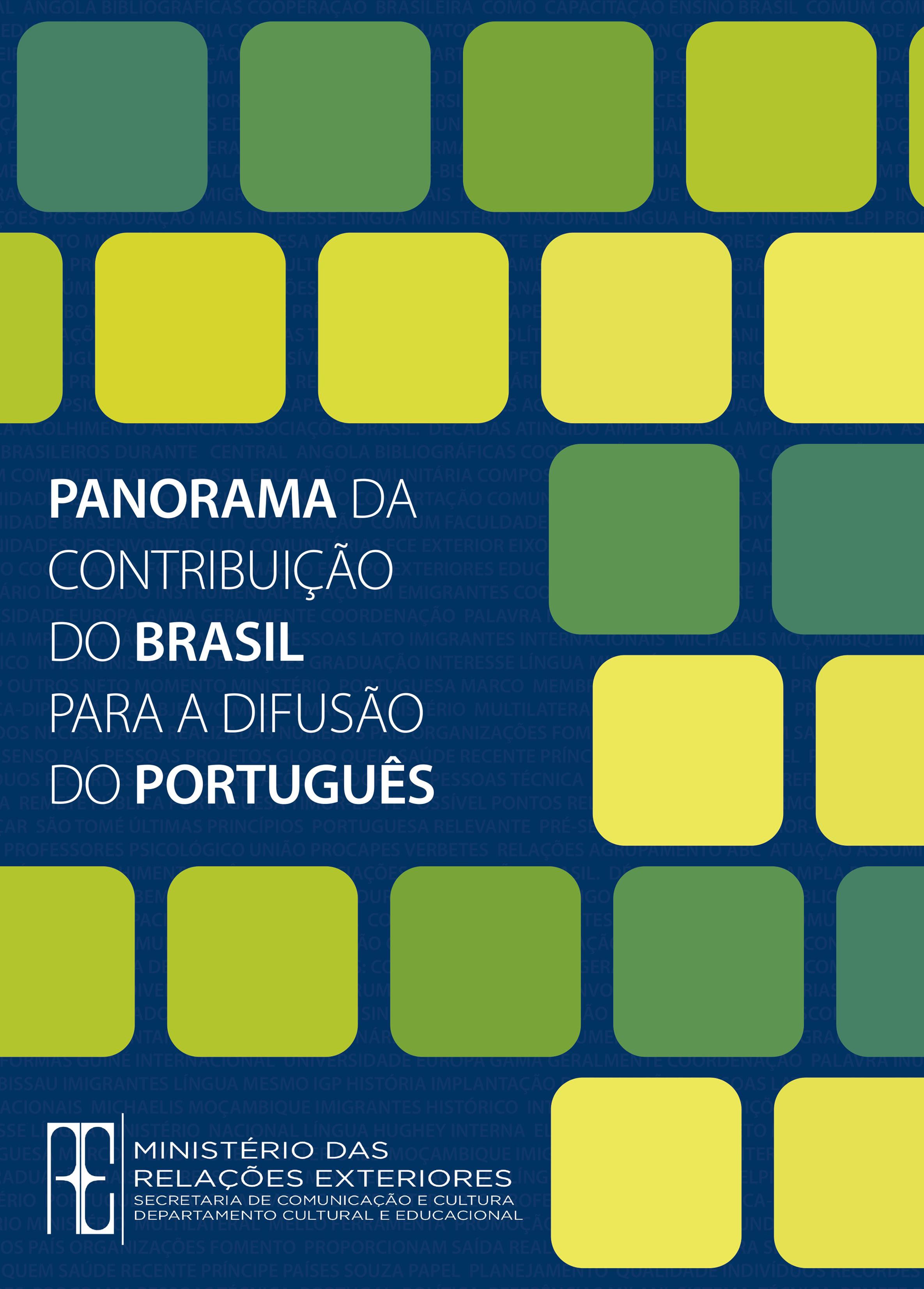 Panorama da contribuição do Brasil para a difusão do português