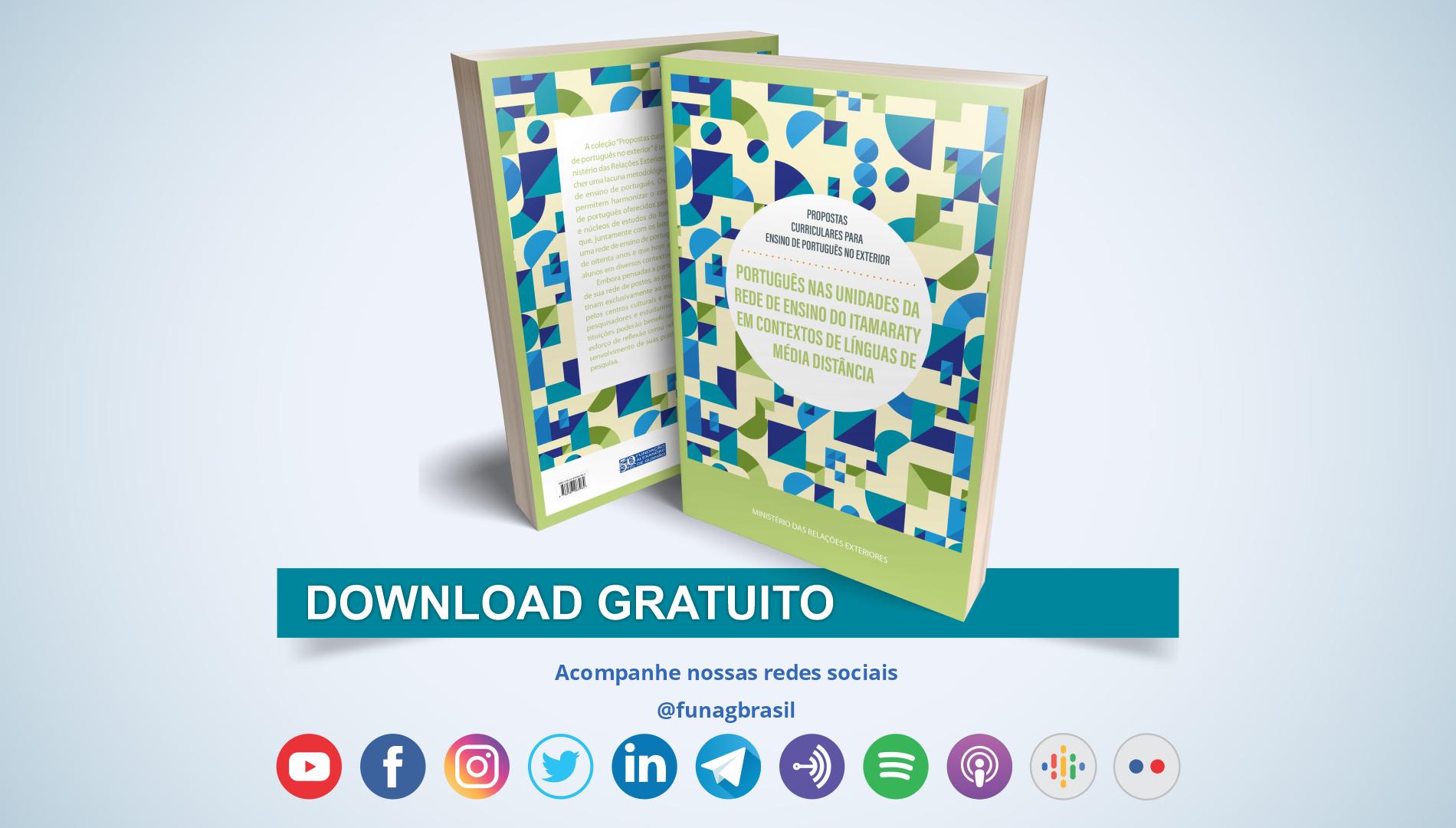 """MRE e FUNAG publicam sexto número da coleção """"Propostas curriculares para ensino de português no exterior"""""""