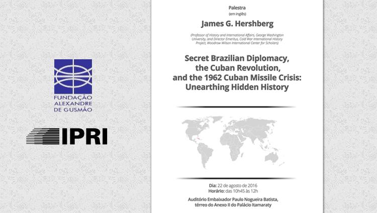 Registrations open: lecture by Professor James G. Hershberg