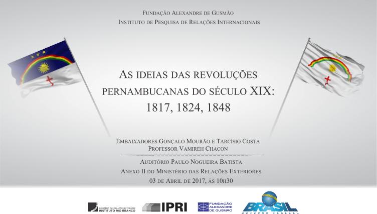 Revolução pernambucana é tema de palestra-debate no auditório da FUNAG