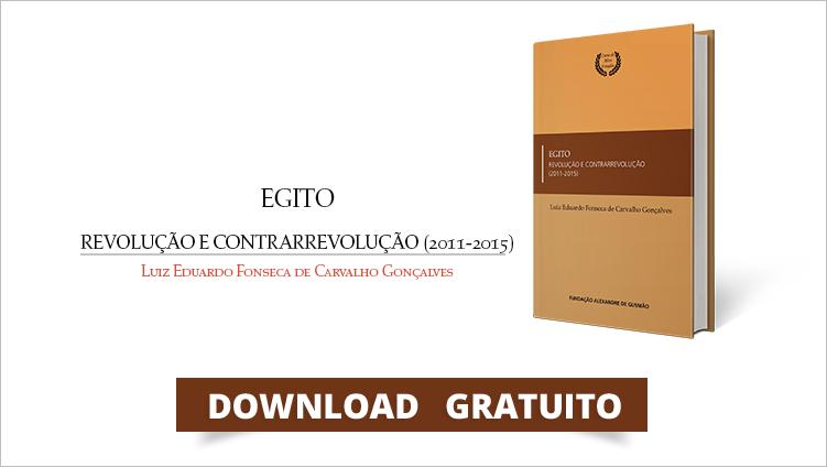 """FUNAG edita o livro """"Egito: Revolução e Contrarrevolução (2011-2015)"""""""