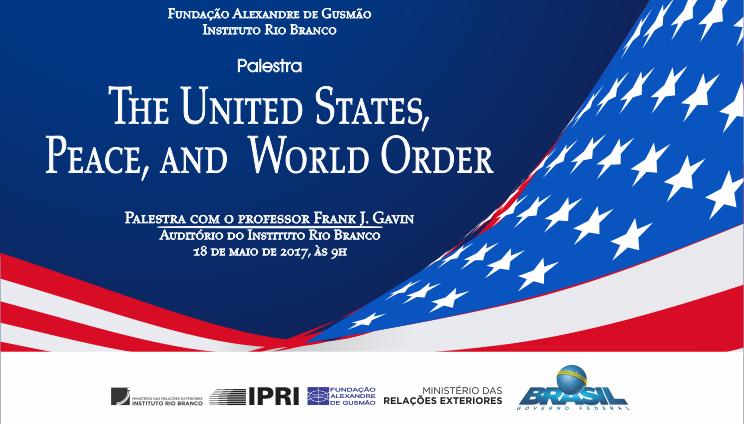 Inscripciones abiertas para la conferencia-debate con el profesor Frank J. Gavin