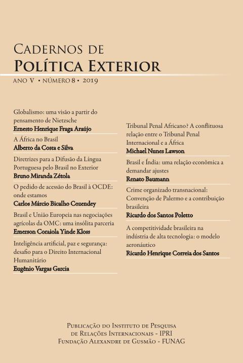 Cadernos de Política Exterior - Ano V • Número 8 • 2019
