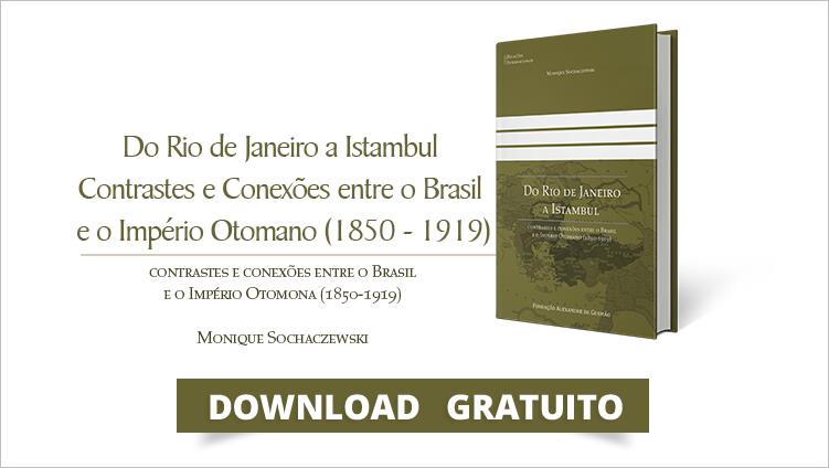 """FUNAG publica o livro """"Do Rio de Janeiro a Istambul"""""""