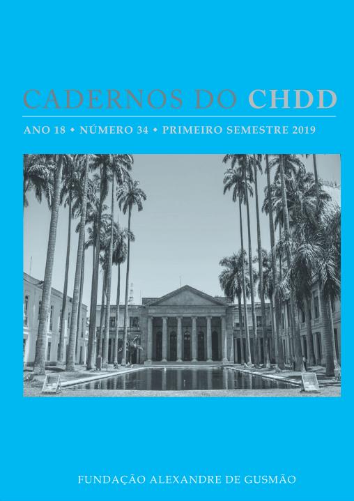 Cadernos do CHDD - Ano 18 • Número 34 • Primeiro Semestre 2019