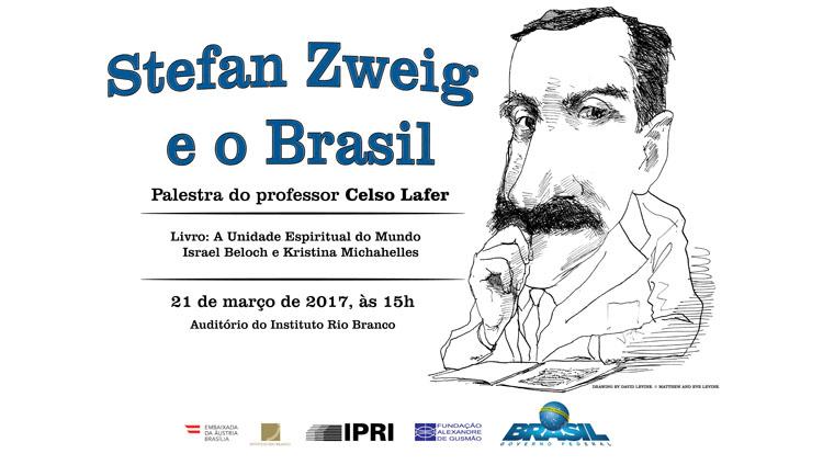 """Transmissão ao vivo da palestra """"Stefan Zweig e o Brasil"""" com o professor Celso Lafer"""