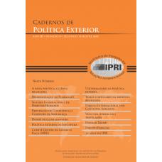 Cadernos de Política Exterior - Ano 3 • Número 6 • segundo semestre de 2017