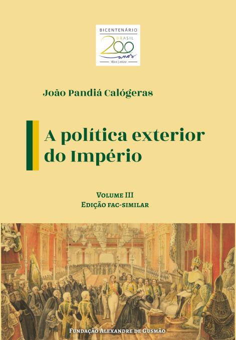 Política Exterior do Império v.III