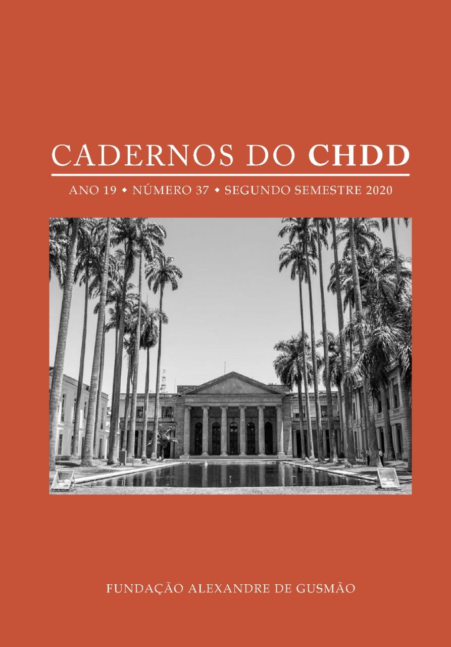 Cadernos do CHDD – Ano 19 – Número 37 – segundo semestre de 2020