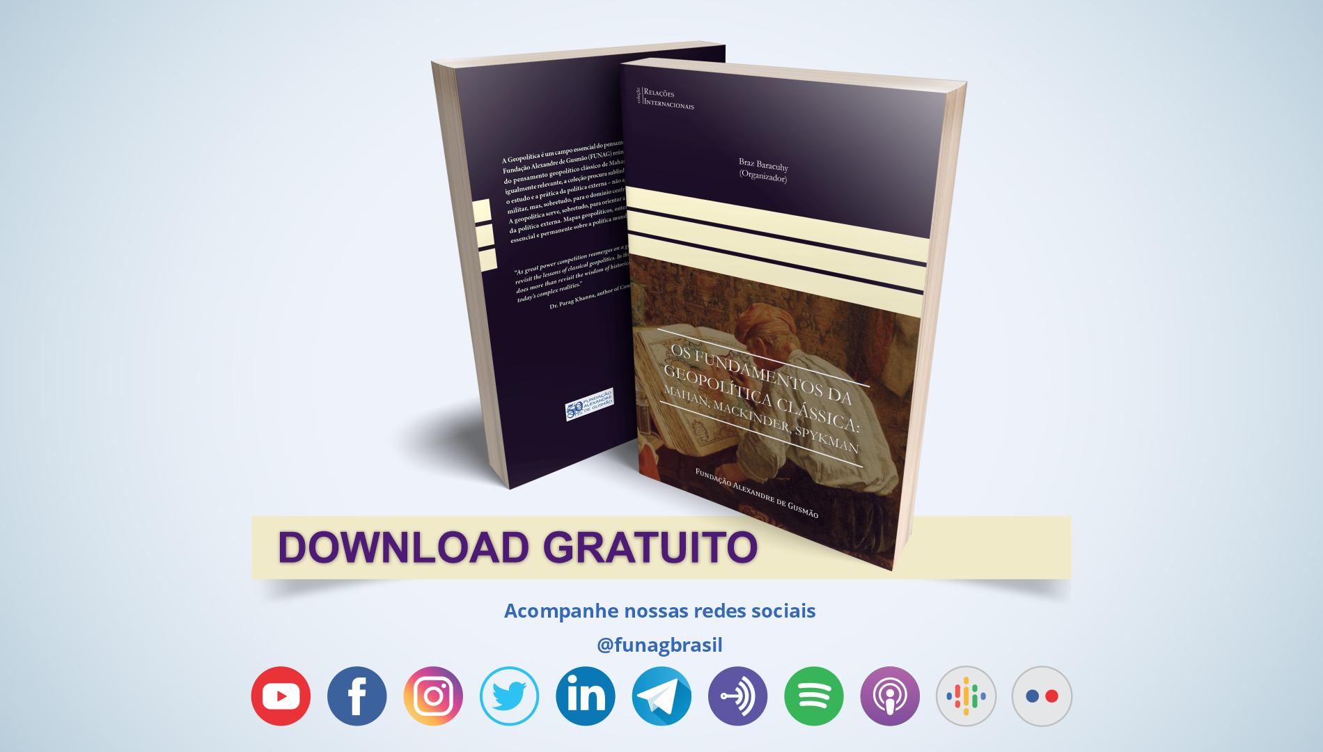 FUNAG lança livro sobre fundamentos da geopolítica clássica