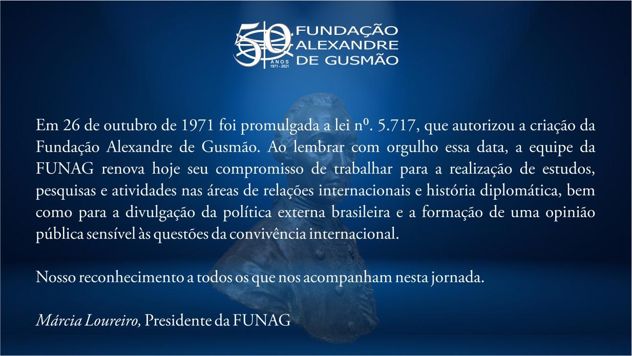 50 anos da FUNAG